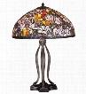 Meyda Tiffany Magnolia Table Lamp