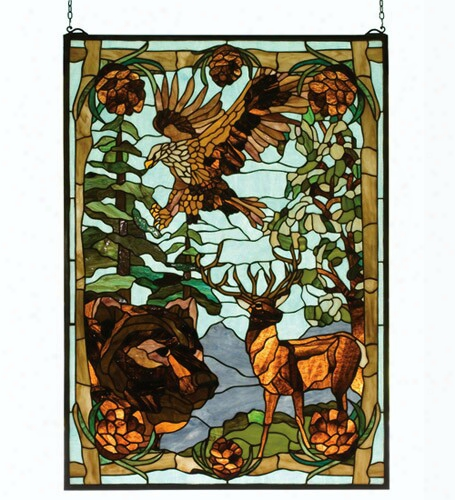 Meyda Tiffany Wilderness Window