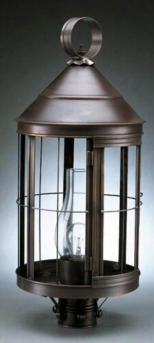 Northeast Lanterns Heal Large Post Mount Lantern