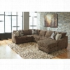 Benchcraft Justyna 3 Piece Chaise Sectional