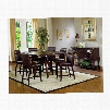 Hillsdale Furniture Nottingham 7-Piece Counter Height Dining Set