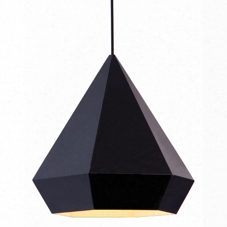 Zuo Pure Forecast Ceiling Lamp In Black