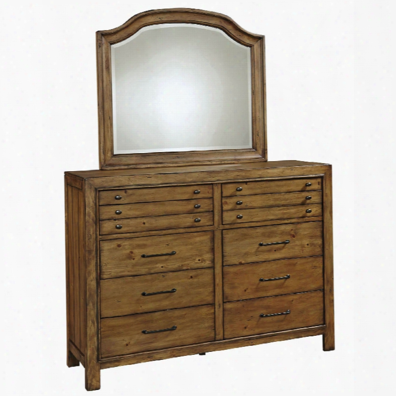 Broyhill Bethany Square 10 Drawer Chesser