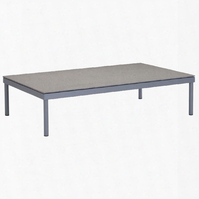 Zuo Vive Sand Beach Coffee Table In Gray And Granite