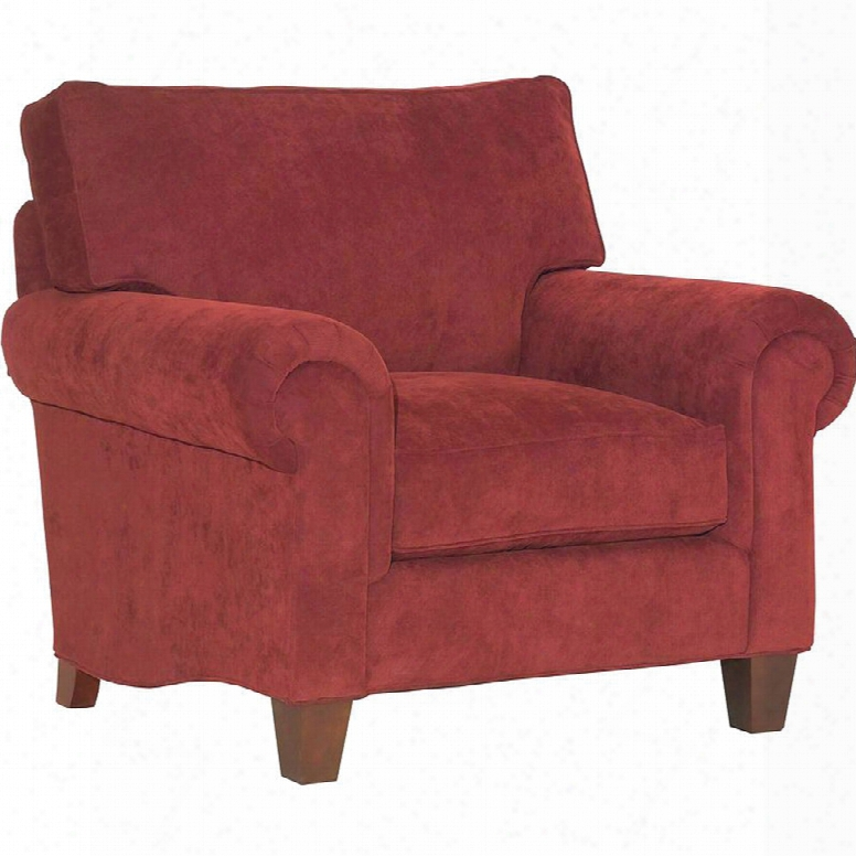 Broyhill Chandler Chair In Red