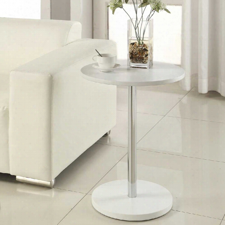 Carolina Forge Trent Accent Table