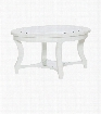 American Drew Lynn Haven Round Glass Cocktail Table