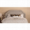 Hillsdale Furniture Carlyle Fabric Upholstered Headboard in Light Taupe Queen Size