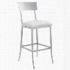 Zuo Modern Mach Bar Chair in White