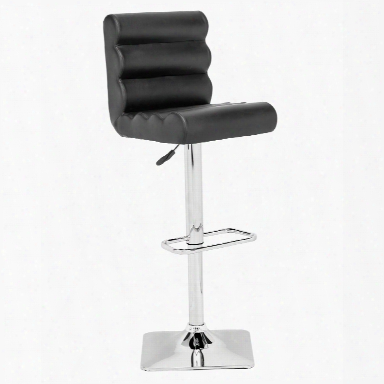 Zuo Modern Nitro Bar Chair In Black
