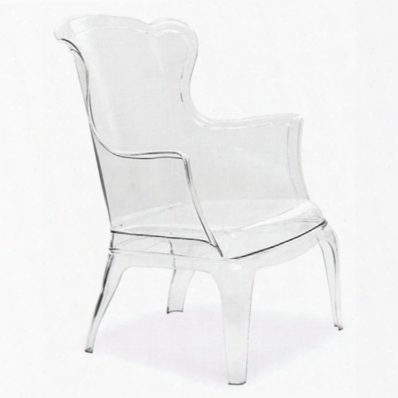 Zuo Vive Vision Chair In Transparent