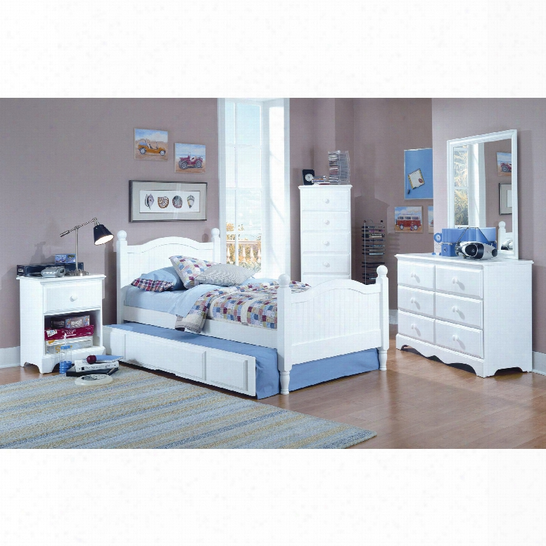 Carolina Furniture Works Cottage Twin Bed