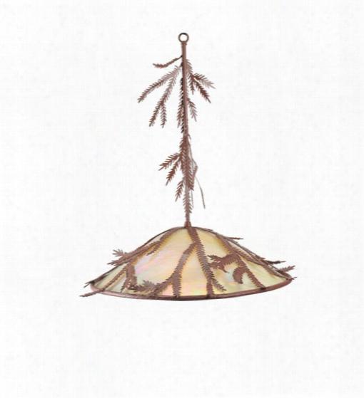 Meyda Tiffany Pine Branch Pendant