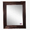Rayne Mirrors Ava Rustic Brown Wall Mirror
