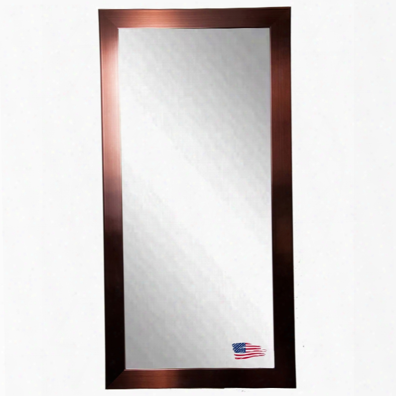 Rayne Mirrors Jovie Jane Shiny Bronze Floor Mirror