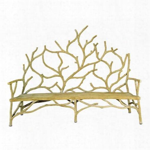 Currey & Company Elwynn Bench Large