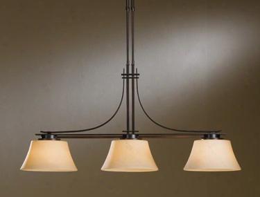 Hubbardton Forge Modern Prairie 3-light Pendant