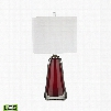 Dimond Lighting Ms. Scarlet 1-Light Table Lamp