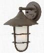 Hinkley Lighting Marina 1-Light 4 Inch Aluminum Outdoor Lantern