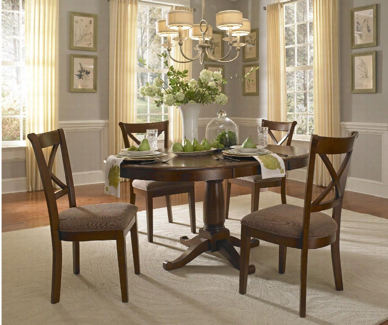 Aamerica Desoto 60 Inch Oval Dining Table