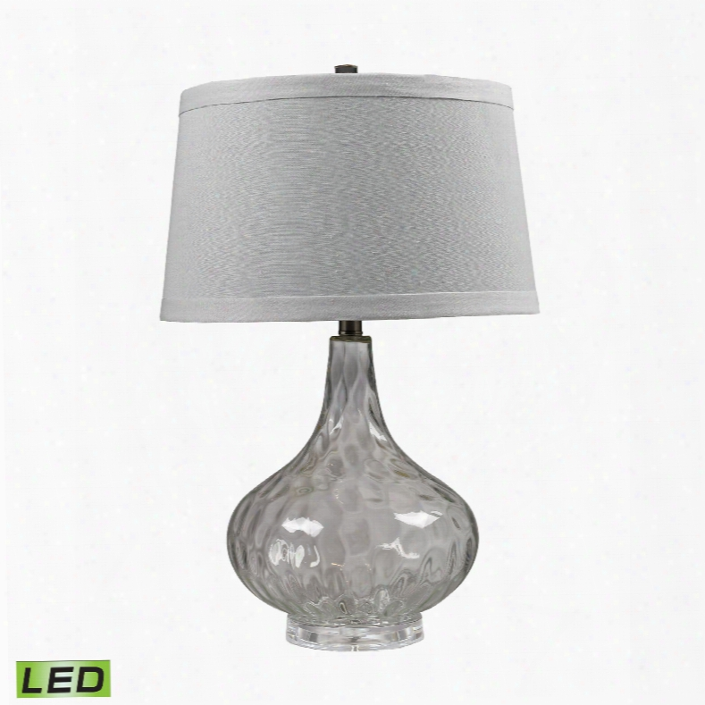 Dimond Lighting Glass 1-light Table Lamp