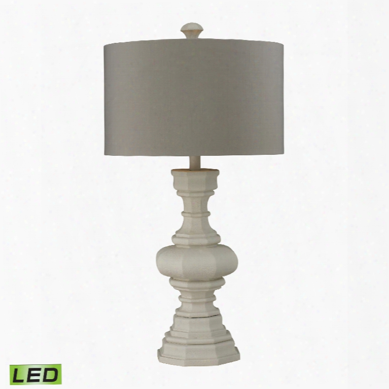 Dimond Lighting Parisian Plaster 1-light Table Lamp
