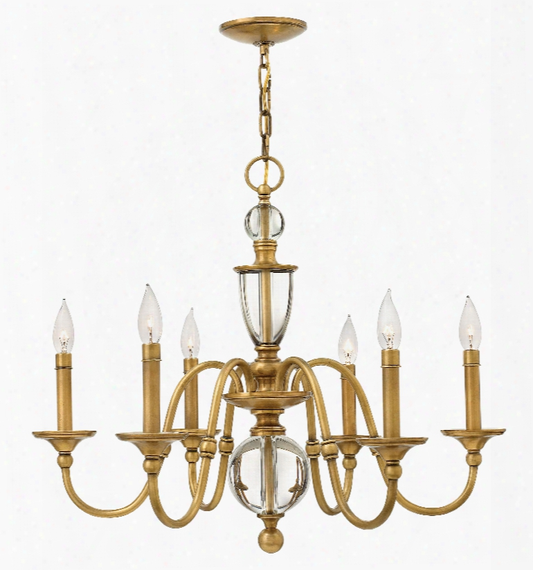 Hinkley Lighting Eleanor 6-light Contemporay Chandelier