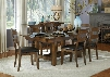 AAmerica Mariposa 7 Piece Dining Set in Rustic Whiskey