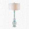 Dimond Lighting Swirl Glass 1-Light Table Lamp