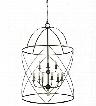 Framburg Nantucket 6-Light Foyer Chandelier
