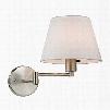 ELK Lighting Avenal 1-Light Swingarm Sconce In Brushed Nickel