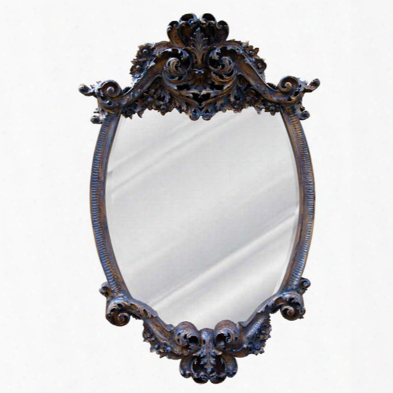 Hickoory Manor House Lille Mirror In Veneitian