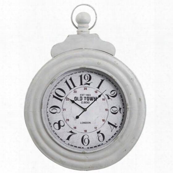 Cooper Classics Dillion Clock