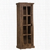 Hillsdale Furniture Tuscan Retreat Tall Single Door Cabinet in Aged Gray