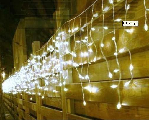 10m*0.65m 320led Light Flashing Lane Led String Lamps Curtain Icicle Christmas Festival Lights 110v-220v Eu Uk Us Au