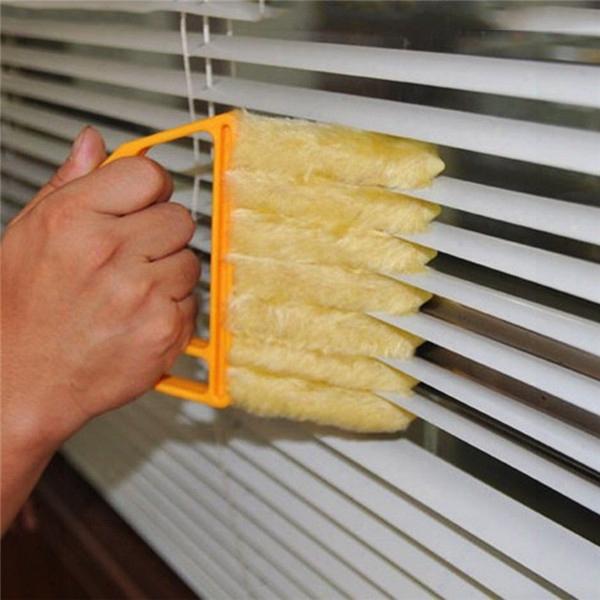 1pc Microfibre Venetian Blind Brush Window Air Conditioner Duster Clean Cleaenr