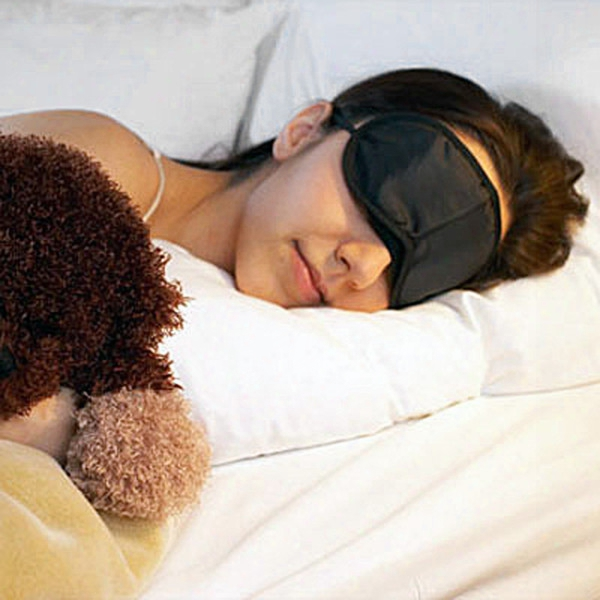 2016 Hot Sale Soft Eye Mask Shade Nap Cover Blindfold Sleeping Travel Rest(0612001)