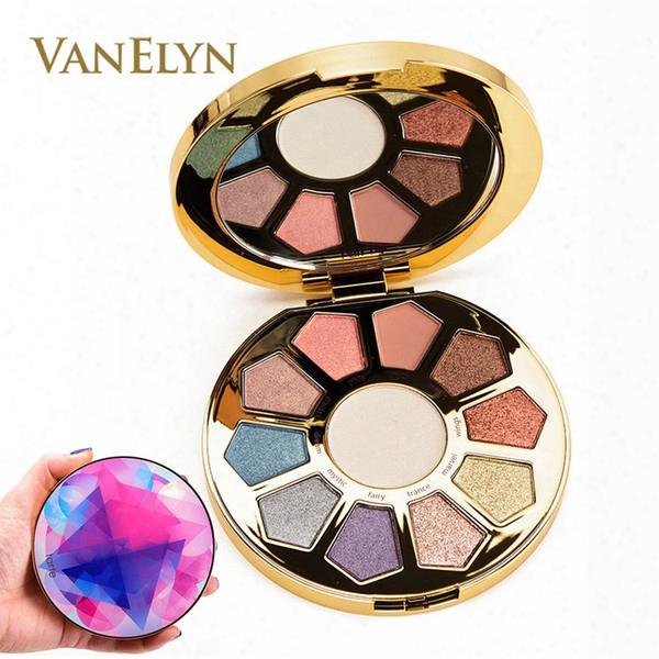 2017 Newest Highlighter & Eyeshadow Make Believe In Yourself High Performance 4.1g 11 Shades Eye & Cheek Palette Free Shipping Cosmetics