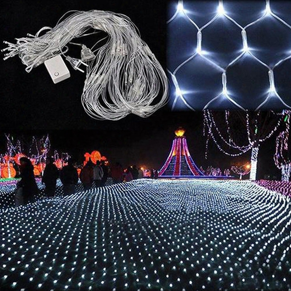 Curtain Lights Christmas Lights 1.5*1.5m 3*2m 6*4m 8*10m Led Lights C Hristmas Ornament Lamp Flash Colored Fairy Wedding Decor Outdoor Light