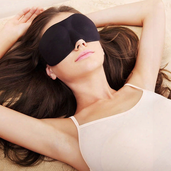 Fashion 3d 23*9cm Sleep Rest Travel Eye Mask Sponge Cover Blindfold Shade Eyeshade 1 Piece Free Shipping