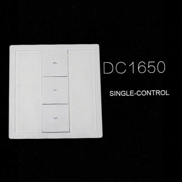 Free Shipping Quality Guaranteed Dooya Wall Switch Dc1650 Dc1651 Dc2152 Single Double Channel Single Dounle 15 Fifteen Control