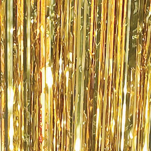 Gold Metallic Curtains