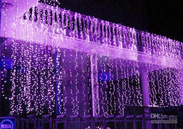 Hot Sales 10m * 3m Led Curtain Light String Christmas Wedding Party Holiday Backdrop Decoration String Fairy Lights W/ Us Eu Au Uk Plug L102