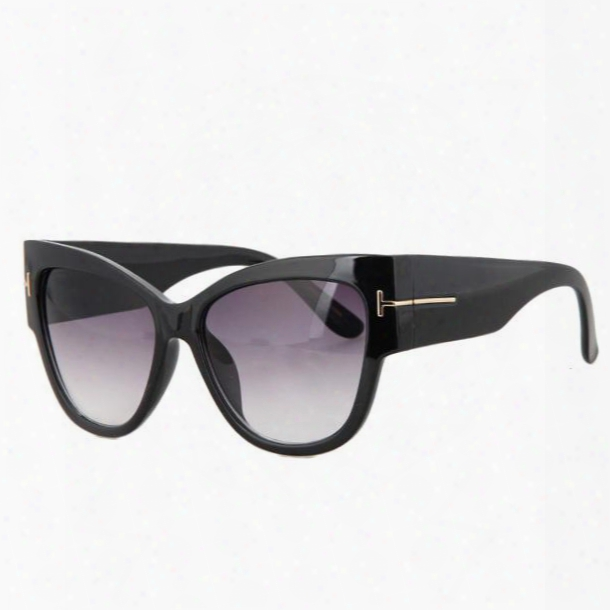 Luxury Brand Designer Women Sunglasses Oversize Acetate Cat Eye Sun Glasses Sexy Shades Ss649
