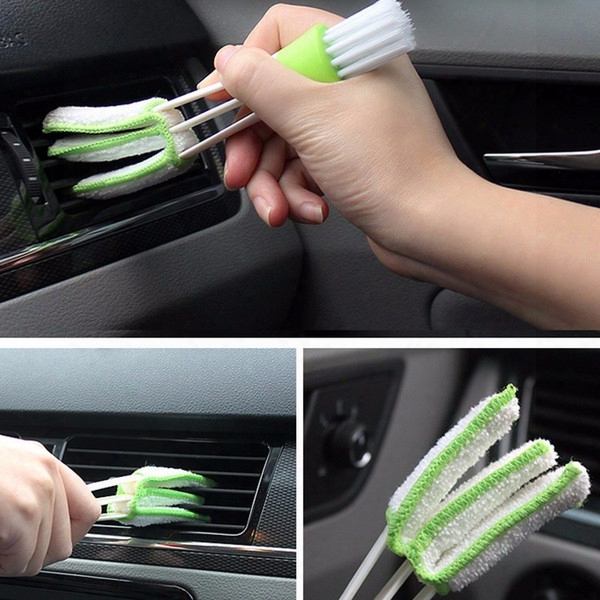 Microfiber Cleaninng Brush For Air-condition Blinds Duster Car Care Tools Computer Detailing Cleaner Tool Washer