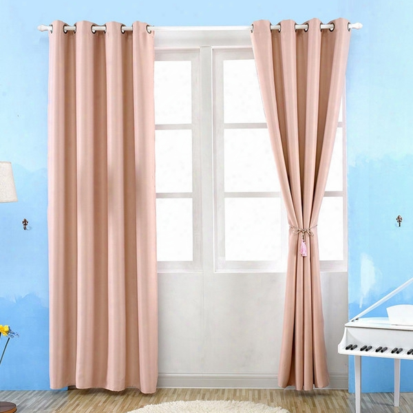 New Arrival Sheer Curtains High Grade Solid Thick Modern Curtain Draperies For Living Dining Room Shade Insulation Fabric Ji0143