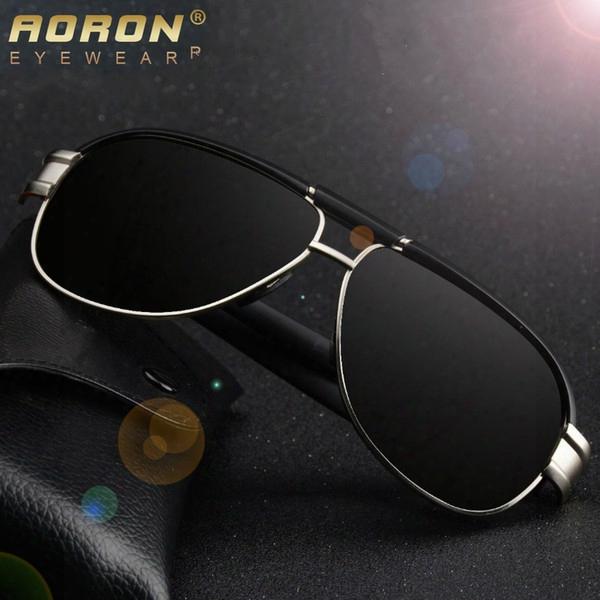 New Hd Brand Mens Polarized Sunglasses Outdoor Sports Pilot Sun Glasses Fashion Colorful Lens Classic Driving Eyewear Glasses Shades Hot