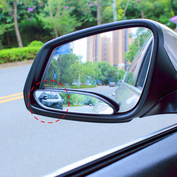 Pair Of Long Design Car Mirror For Blind Side For Traffic Safety Vide Rear View Mirror