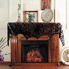 10Pcs/lot Black Lace Spiderweb Fireplace Mantle Scarf for Halloween Party Decoration 18*96 inch Supply