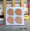 ABH Glow kit Makeup Face Blush Powder Blusher Palette Cosmetic Blushes Moonchild 4 Shades: sun dipped/that glaw/gleam/sweets Anastasia